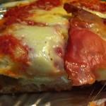Pizza con lievito madre bolle